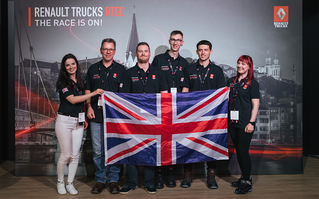 Norfolk Truck & Van team travels to France to receive prestigious award.
